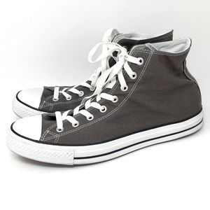All Star Converse High Tops Gray 12